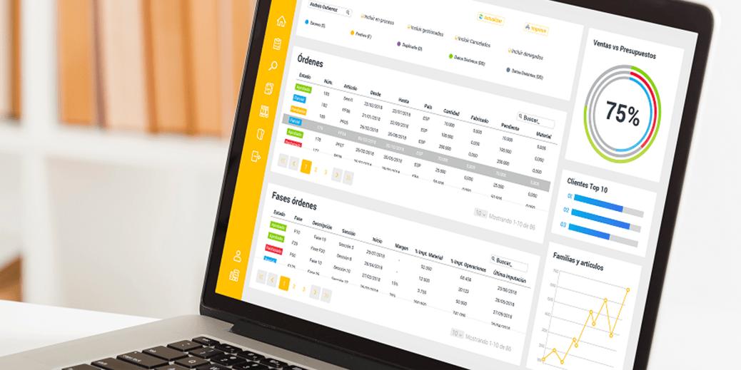 Obtén datos en tiempo real y mejora las decisiones de tu empresa con un completo sistema ERP y CRM